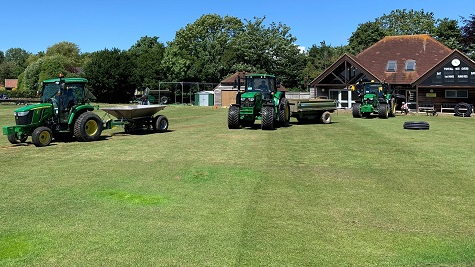 FLOOD RELIEF FOR STIRLANDS CRICKET CLUB