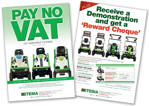 ETESIA LAUNCH VAT-FREE DEAL