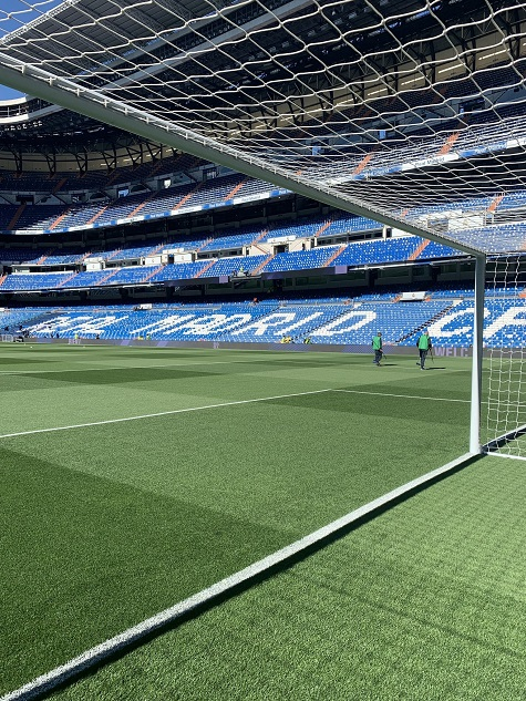 REAL MADRID PRIZE FOR SALTEX COLLEGE CUP