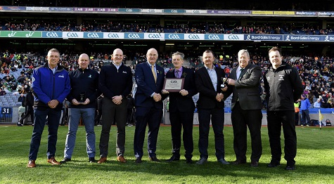 NOWLAN PARK RECEIVE GAA COUNTY PITCH OF THE YEAR AWARD